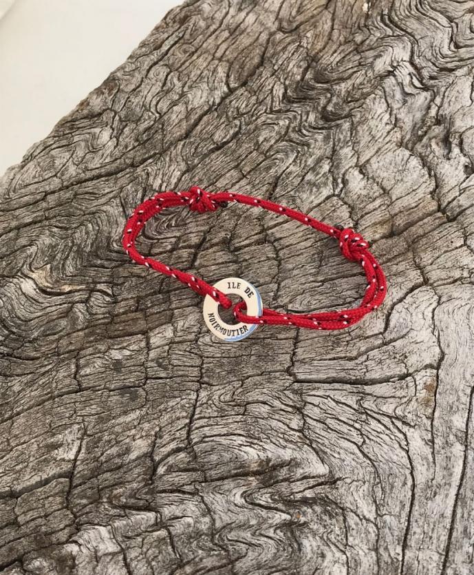 Bracelet disque île de Noirmoutier