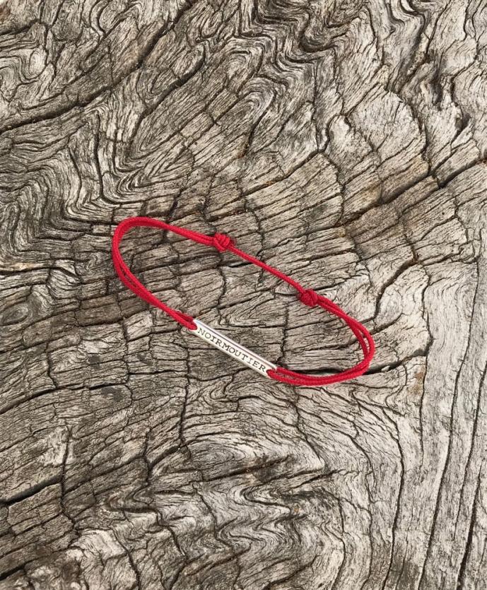 Bracelet plaque rectangulaire Noirmoutier