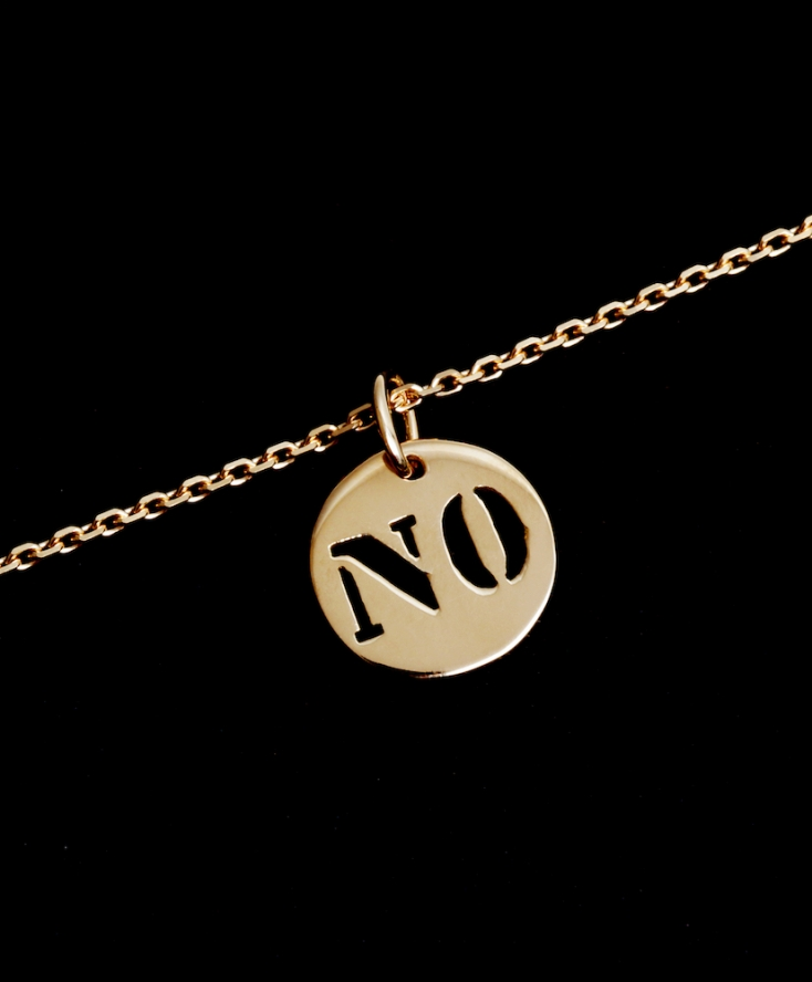 Collier Chaine NO Or
